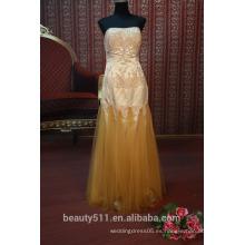 EN STOCK Off-el hombro vestido de fiesta de las mujeres de piso-longitud vestido de baile SE98