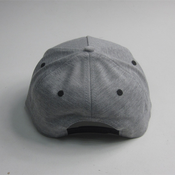 Cotton Jersey Bat Patch Flat Bill Cap