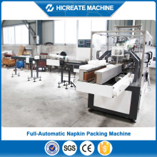automatic HC-PS-A plastic bag face tissue three dimension packing machine