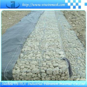 Gabion Wire Mesh verwendet, um die Struktur des Bodens zu stärken