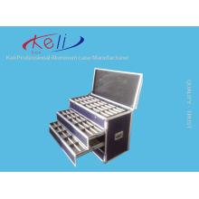 2016 Caixa de vôo mais novo da gaveta e caixa de vôo de alumínio da gaveta da estrada / costume livre (KeLi-Drawer-1003)