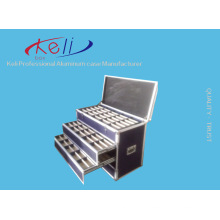 2016 Самый новый ящик для перевозки ящиков и алюминиевый ящик для рейса / бесплатный заказ (KeLi-Drawer-1003)