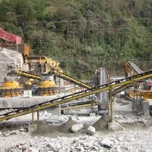 Stone Crushing Plant for Pebble, Basalt, Feldspar, Granite, Limestone, Construction Waste