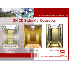 Elevator Cabin with Mirror St. St Flat Frame (SN-CD-104)