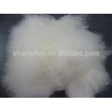 Fibra de hilado de cachemira peinada pura de lana de cabra Dehaired