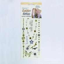 Novo design temporário personalizado adesivo, qualidade do OEM decorativo à prova d 'água etiqueta do tatuagem