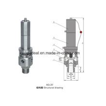 Válvula de alívio do compressor de ar (AQ-20)