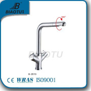 single lever brass kitchen faucets single handle chrome home hardware