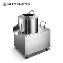 Good Performance Industrial Automatic Heavy Duty Electric Potato Peeler Machine with Water Faucet