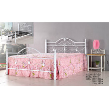 White Fashion Beliebte Metal Painting Bed (608-A #)