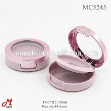 MC5245 Розовый пустой контейнер для румян / румяный компактный контейнер