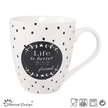 Eco-Friendly 20oz Custom Ceramic New Bone China Mug Cups