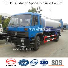 Dongfeng 10cbm Νερό εκτοξευτήρα νερού Δεξαμενόπλοιο