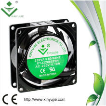 80mm Aluminum House High Powerful 8025 AC Mini Fan 220V