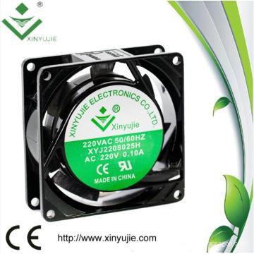 80mm Aluminum House High Powerful 8025 AC Mini Fan 220V