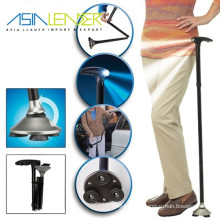 3*AAA Battery Power Supply Walking Sticks with LED Light