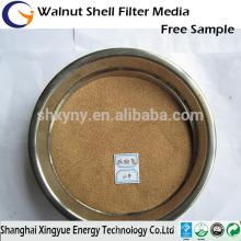 Suministro profesional de 80mesh de nuez en shell / shell de nuez abrasivo