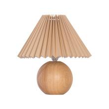 White Wooden Desk Lamp