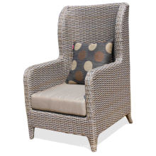 Rattan Wicker Hotel High Back Leisure Chair