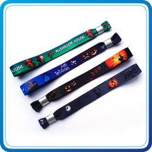 Bande de poignet d'impression numérique de cadeaux d'Halloween pour l'événement (HN-SW-126)