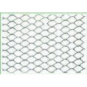 Hoja de malla de metal expandido de aluminio hexagonal de patrón (anjia-401)