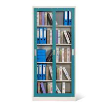 Armario de almacenamiento de puertas correderas con estantes ajustables