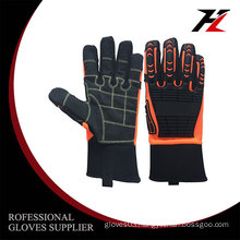 Bottom price high quality durable mechanic coated working gloves