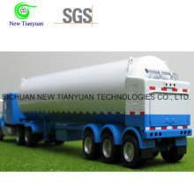 LNG Lo2 Filling Medium Tank Container Semi Trailer