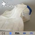 Absorbente 100% algodón blanqueado desechable gasa médica regazo esponja