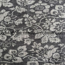 100% Linen Jacquard Fios Tecidos Tingidos (QF16-2480)