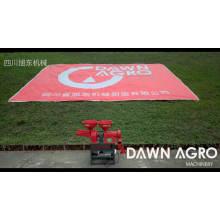 DAWN AGRO Máquina de molienda de grano de disco de molino de arroz combinada para auto