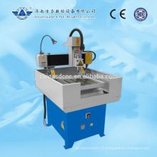 Mini vente chaude JK-4040 CNC fraiseuse avec le corps de la machine tout en fonte