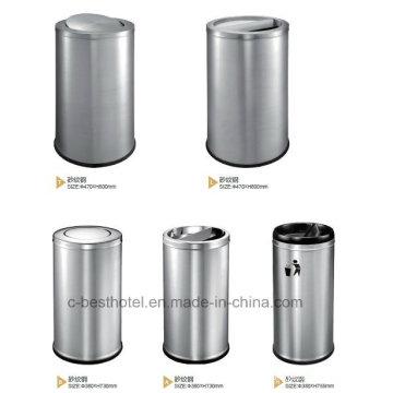 Papelera de basura comercial / Papelera