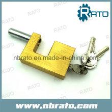 Alta calidad de seguridad de latón caché cadenas candado