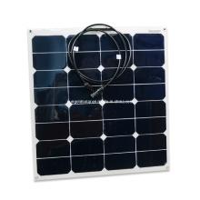 Высокая эффективность 50W гибкие солнечные панели Производитель Китай