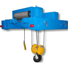 Dual Rail Wire Rope Hoist Trolley For Double Girder Overhead Crane