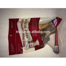Donner des sacs d'emballage pour les aliments