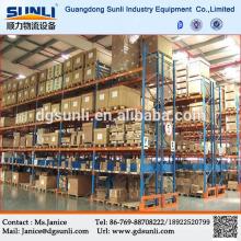 Estante del almacenaje industrial selectivo Heavy Duty plataforma Metal barras