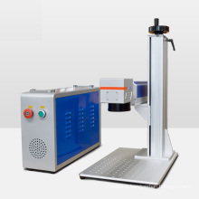 Raycus VOIERN 20w 30W 50W fiber laser marking machine for metal plastic 3 years warranty