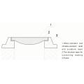 Квадратная решетка, прямоугольная, крышка смотрового колодца, крышка люка для воды, крышки люков