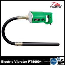 Vibrateur électrique concret de poker de Powertec 1300W 35mm (PT86004)
