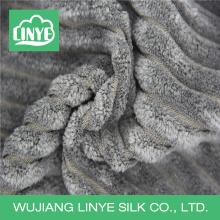 100% polyester plush corduroy fabric cushion designs, stuffed toys fabric