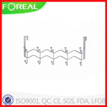Over The Door Metal Wire 10 Hooks Coat Hanger