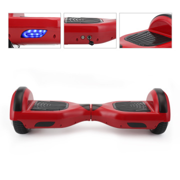 Couleur rouge 6,5 pouces auto équilibrage Scooter Hoverboard