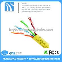 El mejor precio utp Cat 5e Lan cable cable de alambre