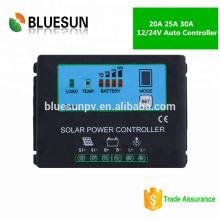 Controlador de carga solar micro 12V 20A para carga de batería AGM / Gel / litio