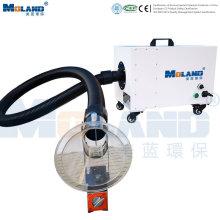 Extrator de fumaça portátil com filtro HEPA