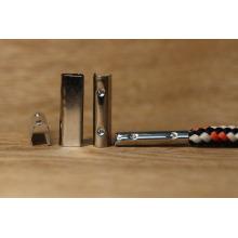 Зажим для металлического зажима для шнурка и наконечника