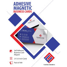 Business Card Refrigerator Magnets 2x3.5 Value