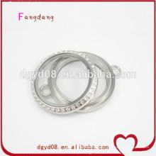 fabricant de bracelets argent médaillon inox 316 verre vis